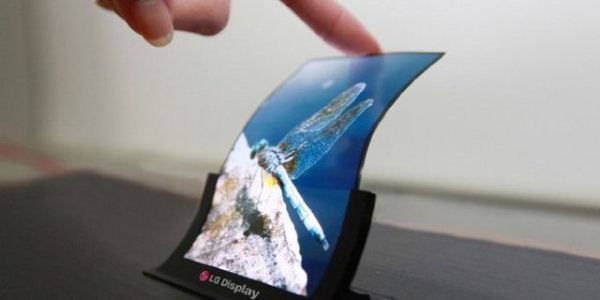 LG гибкие экраны