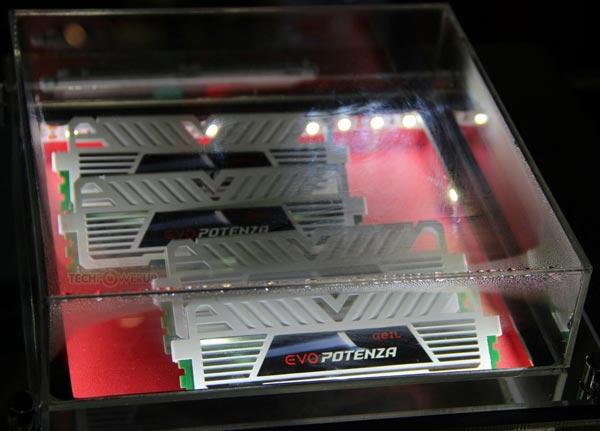 �� ������ GeIL ���� �������� ������ ������� � �������� �������� DDR3-3000 ������� 4 ��