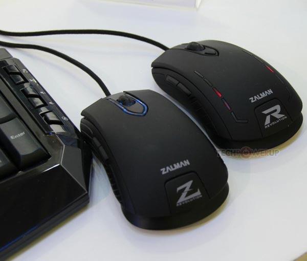 Оснащение мыши Zalman ZM-M40IR включает семь кнопок и колесико прокрутки