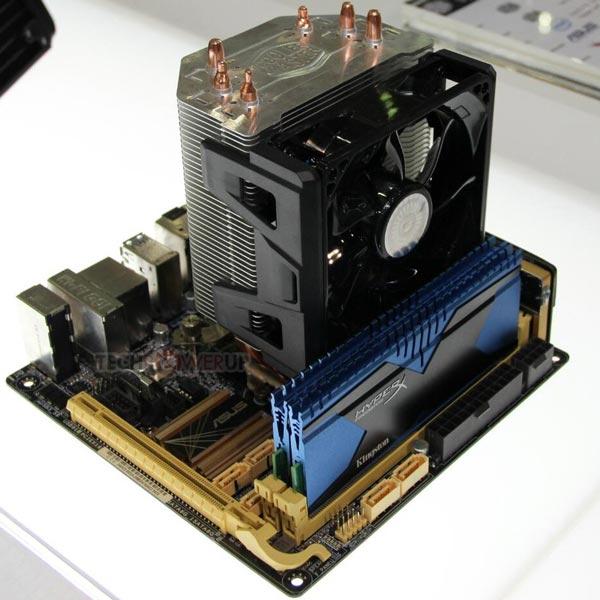 В комплект Cooler Master Hyper 103 входит 92-миллиметровый вентилятор