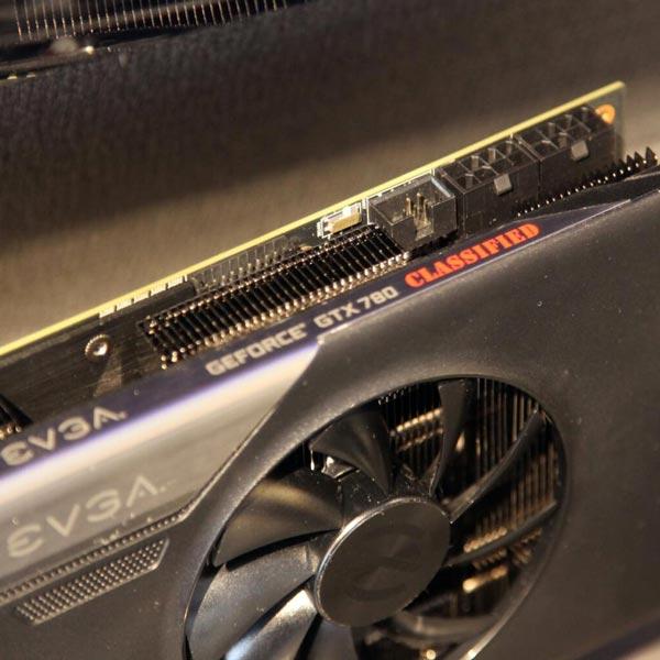 3D-карты EVGA GeForce GTX 780 Classified и GTX 770 Classified позируют перед камерой