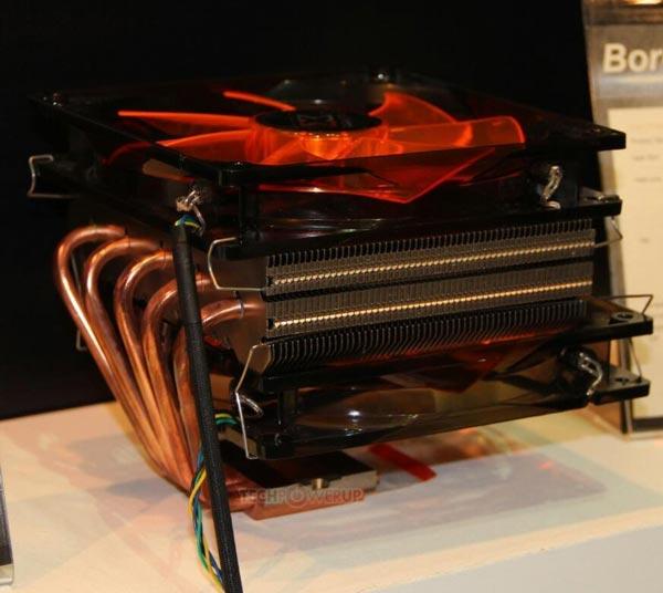 Охладитель Xigmatek Boreas подходит для процессоров с TDP до 150 Вт