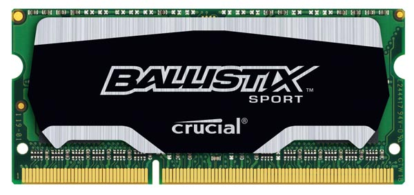 На модули Crucial Ballistix Sport SODIMM распространяется действие пожизненной гарантии