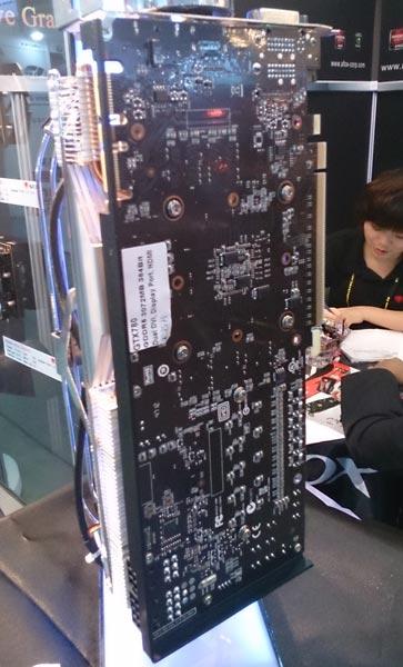 Охладитель 3D-карты GTX780 собственной разработки Afox работает на 20% тише референсного