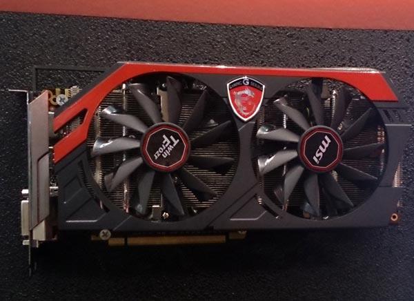 � ������������ 3D-����� MSI GeForce GTX 780 Gaming ������ 3 �� ������ GDDR5