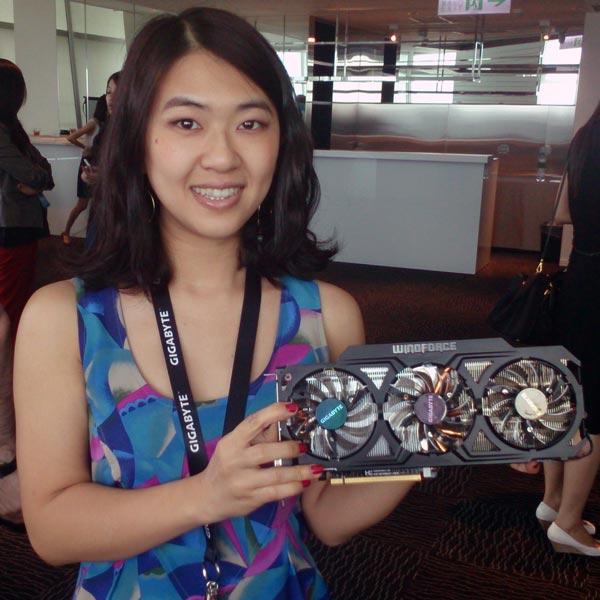 3D-карта Gigabyte GeForce GTX 780 с системой охлаждения WindForce 3X 450W собрана на печатной плате собственной разработки Gigabyte