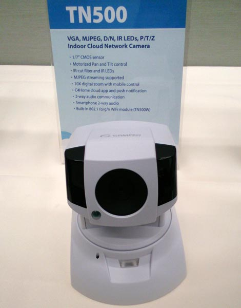 Новые web-камеры Compro работают с использованием облачных технологий