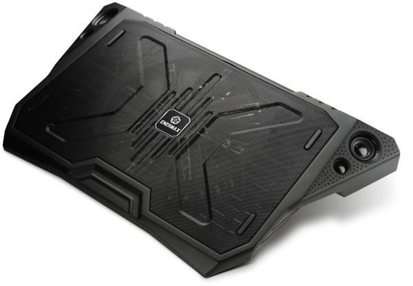 Охлаждающая подставка Enermax AeroOdio CP006 рассчитана на ноутбуки с экранами размером до 17 дюймов по диагонали