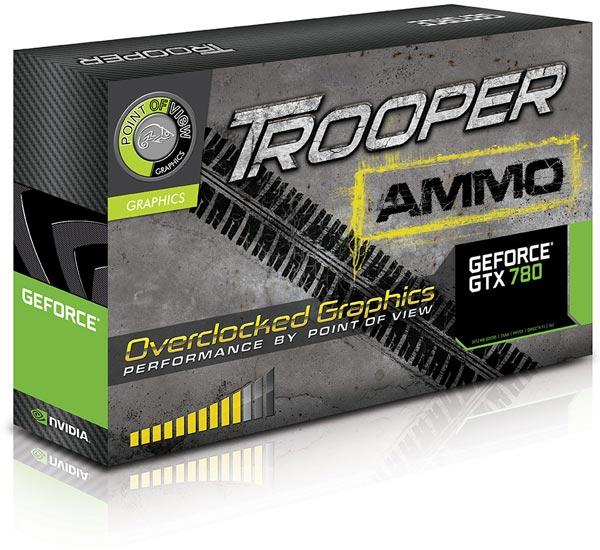 3D-карты серии Point of View Trooper имеют достаточный запас для пользовательских экспериментов