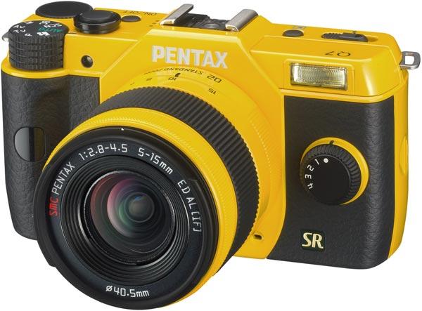 Представлена беззеркальная камера Pentax Q7
