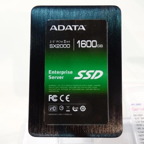 Основой твердотельного накопителя Adata SX2000 служит контроллер LSI SandForce нового поколения