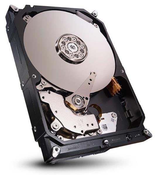 Накопители Seagate NAS оснащены интерфейсом SATA 6 Гбит/с
