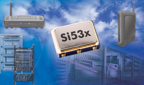 ��������� ���������� Silicon Labs Si535 � Si536 ������������� ��� ������������, ��������������� � ������� �������� ������������