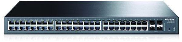 Сетевые коммутаторы TP-Link TL-SG1024DE и TL-SG2452 отличает высокая скорость коммутации и расширенные функции управления