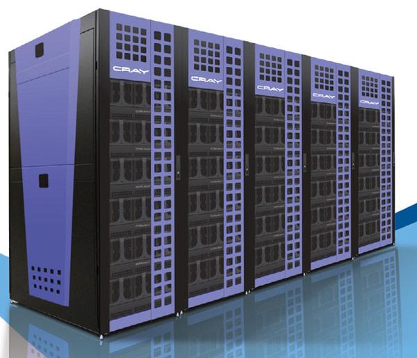 В системах Cray CS300 используются процессоры Intel Xeon