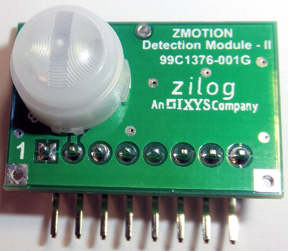 ������������� �������� ������ ����������� �������� Zilog Zmotion Detection Module II ��������� ����� ���������� ����������� ���������