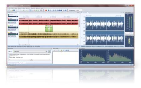 программа для монтажа аудио файлов на русском