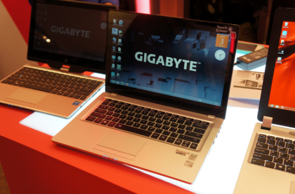 Gigabyte ноутбуки Haswell