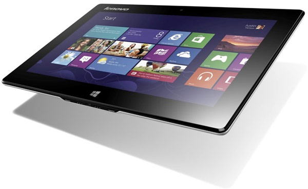 10-дюймовый планшет-трансформер Lenovo Miix с ОС Windows 8 оснащен сенсорным экраном