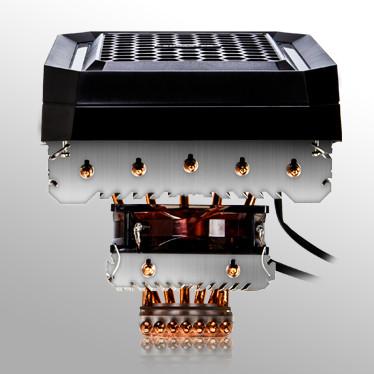 Охладитель Xigmatek Orthrus SD1467 подходит для процессоров с TDP до 180 Вт