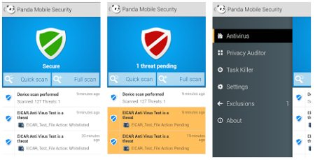 Panda Mobile Security для Android