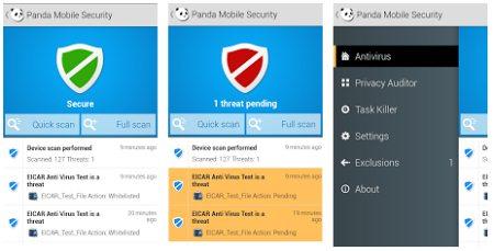 Panda Mobile Security для Android