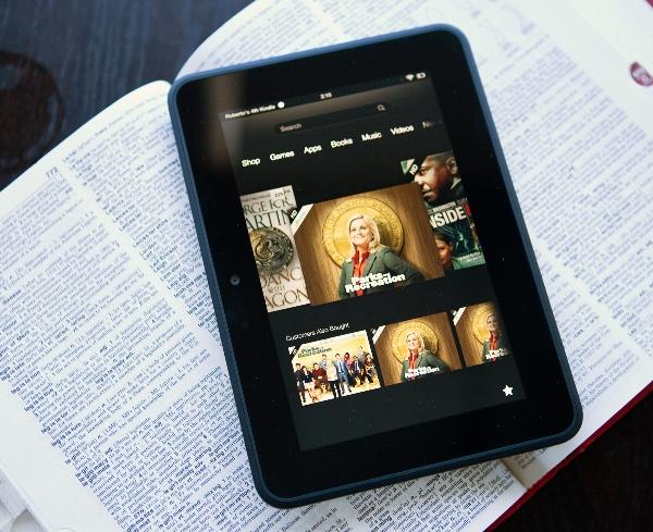 Amazon Kindle Fire HD $100