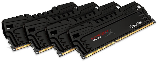 Kingston окрашивает печатные платы модулей памяти HyperX в черный цвет