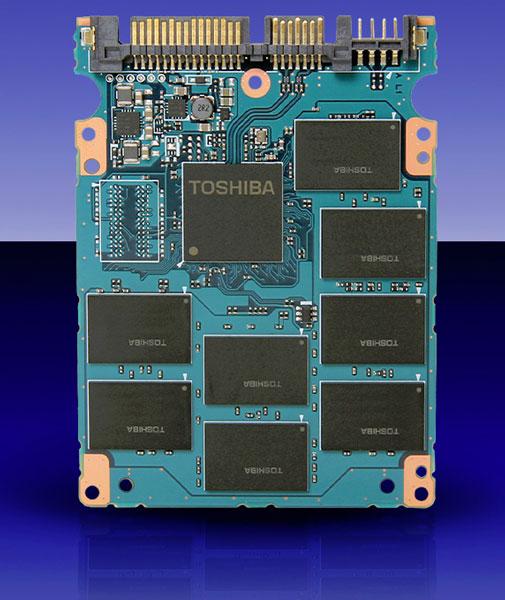 Скорость чтения SSD семейства Toshiba THNSNH достигает 534 МБ/с