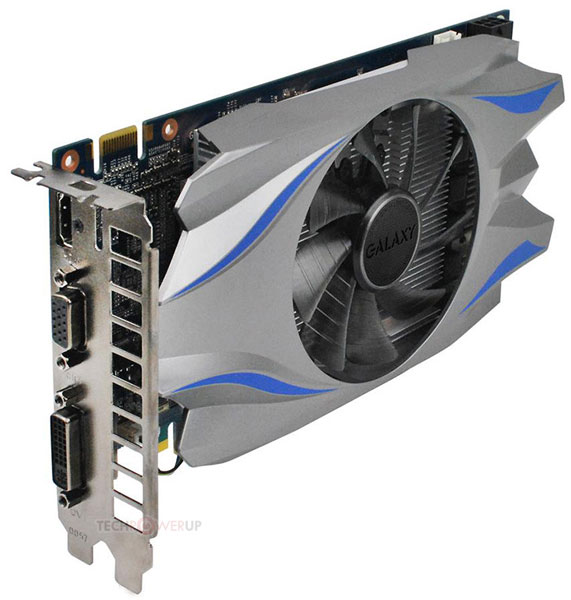 Цена 3D-карты Galaxy GeForce GTX 650 Ti Boost — $170