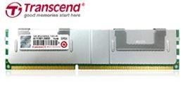 У Transcend готовы модули LRDIMM DDR3L объемом 32 ГБ