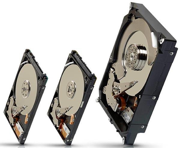 Объем Seagate Laptop SSHD равен 1 ТБ, Laptop Thin SSHD — 500 ГБ, Desktop SSHD — 1 или 2 ТБ