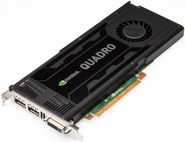 NVIDIA ������������ ���������������� ����������� ���������� Quadro K4000, K2000, K2000D � K600 �� ����������� Kepler