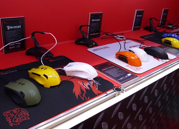 Thermaltake на CeBIT — клавиатуры, мыши и гарнитуры