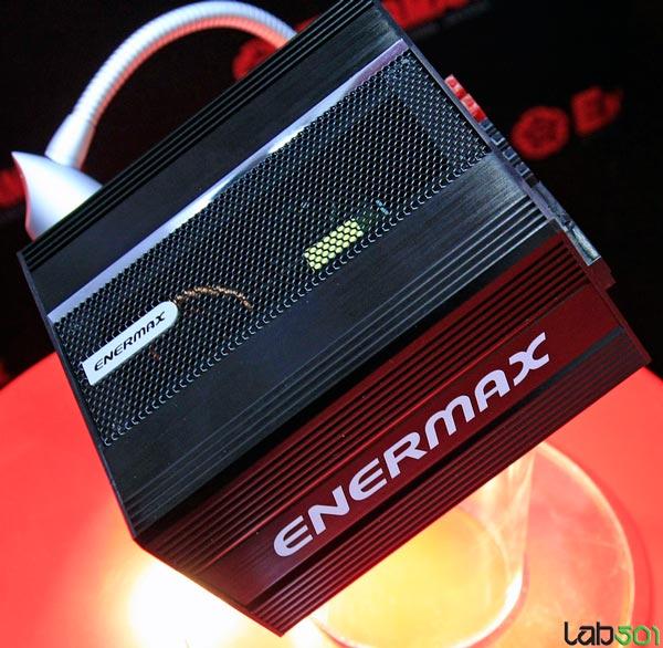 Enermax показала на CeBIT блок питания мощностью 650 Вт с пассивным охлаждением