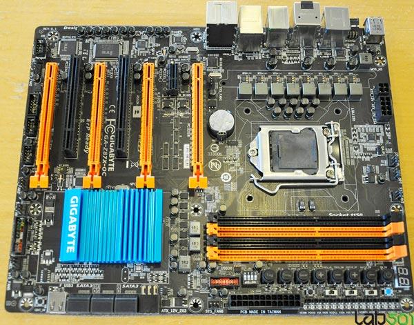 ����� Gigabyte GA-Z87X-OC �������� ������������ ������� LGA 1150