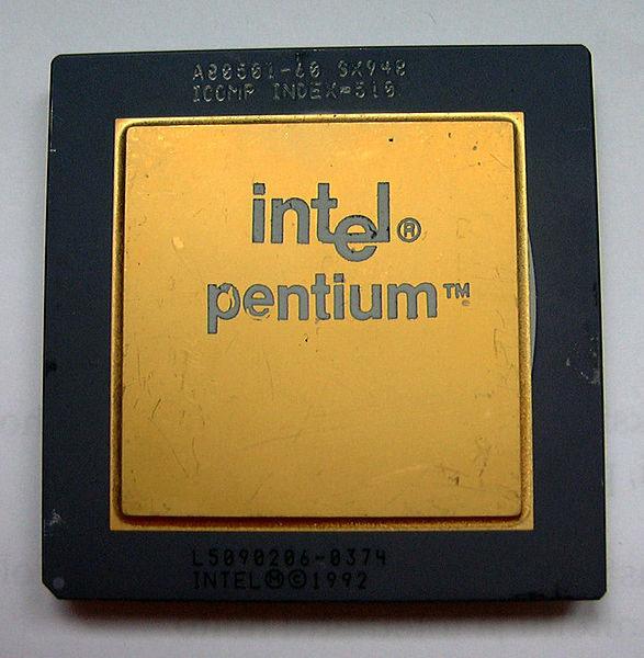 ������ ��������� Intel Pentium