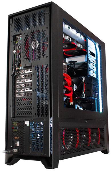 Конфигурация игрового ПК Digital Storm Hailstorm II может включать до трех 3D-карт NVIDIA GeForce GTX Titan