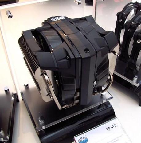 Cooler Master на CeBIT — процессорные кулеры TPC 612 и V8 GTS, вентиляторы JetFlo 120