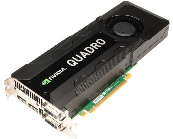 Основой ускорителя Nvidia Quadro K6000 станет GPU GK110
