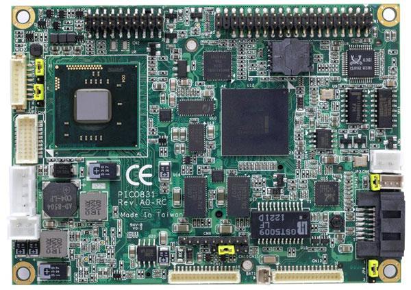 Оснащение PICO831 включает порт SATA 3 Гбит/с