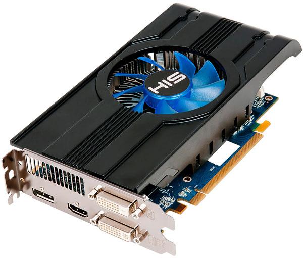 3D-карта HIS Radeon HD 7790 iCooler Turbo разогнана в заводских условиях