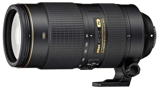Объектив Nikon AF-S Nikkor 80-400mm f/4.5-5.6G ED VR оценен в $2700