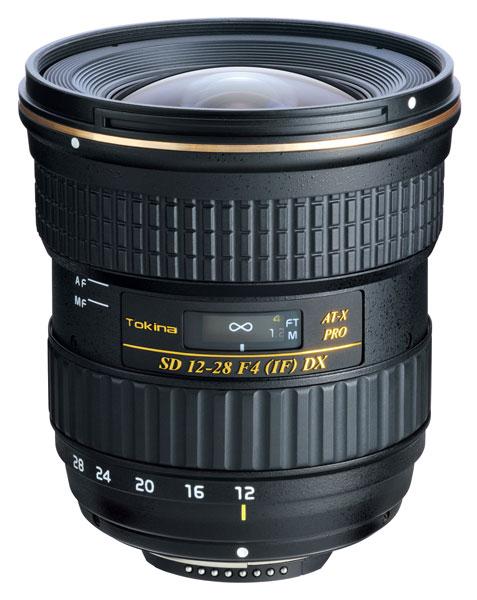 Сначала начнутся продажи объектива Tokina AT-X 12-28 PRO DX для камер Nikon, позже — для камер Canon
