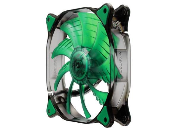 DUAL-X с зелёной светодиодной подсветкой в состоянии покоя