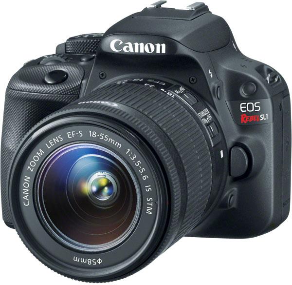 На некоторых рынках Canon EOS 100D будет называться Canon EOS Rebel SL1