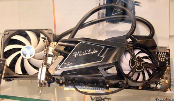 Inno3D показала на CeBIT 3D-карту GeForce GTX Titan с кулером Hybrid iChill