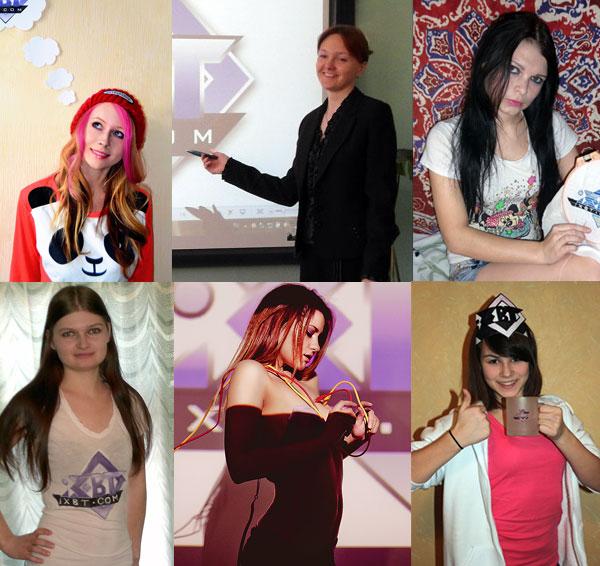 Победительницы конкурса получили призы от компании ЮЛМАРТ