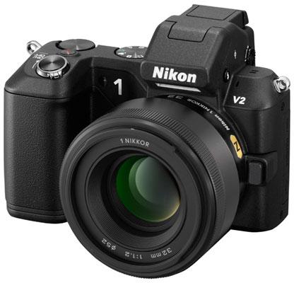 Появление изображения объектива 1 Nikkor 32mm f/1.2 на сайте Nikon говорит о скором выходе новинки
