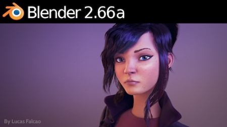 Фрагмент интерфейса Blender